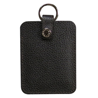 verivinci leather credit card purse pebble textured
