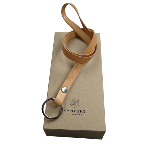 verivinci leather long lanyard. Rav Ox Hide. With gift box