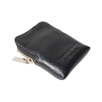 verivinci leather zip purse cute